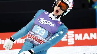 Gerade noch gut gegangen: Gregor Deschwanden gewann sein K.o.-Duell in Garmisch knapp