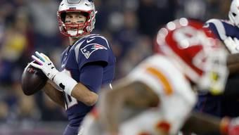 Eine Klasse für sich: New Englands Quarterback Tom Brady