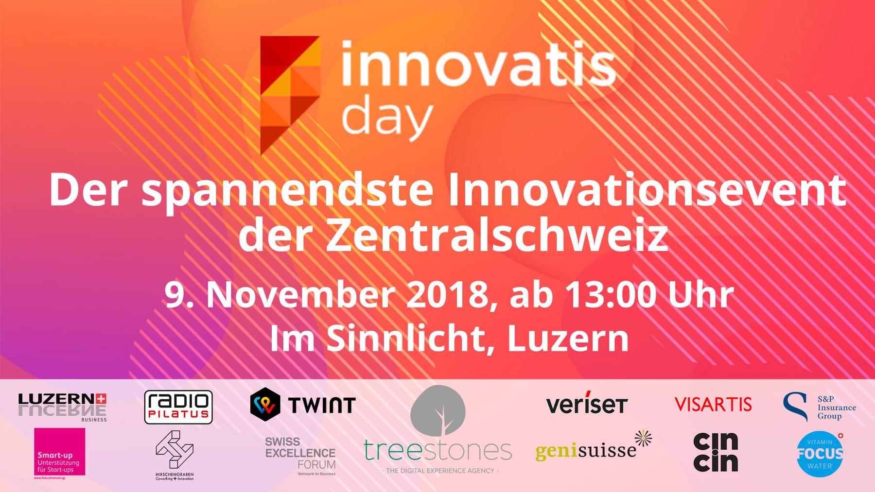 Vernetzt: Innovations-Tag am 9. November in Luzern