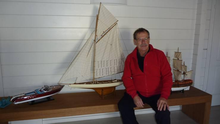 Hochseeskipper Frederik Briner.