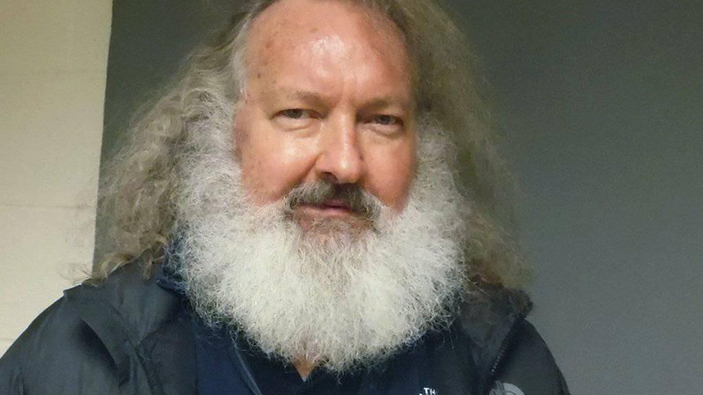 Randy Quaid letzten Freitag nach seiner Verhaftung. Mittlerweile ist er wieder frei, kann aber Vermont wegen eines kalifornischen Haftbefehls nicht verlassen (Archiv).