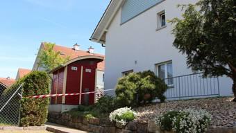 Tatort Langackerweg: In diesem Haus tötete Simon B. am 9. Mai drei Menschen, ehe er einen Nachbarn erschoss und sich selbst richtete.