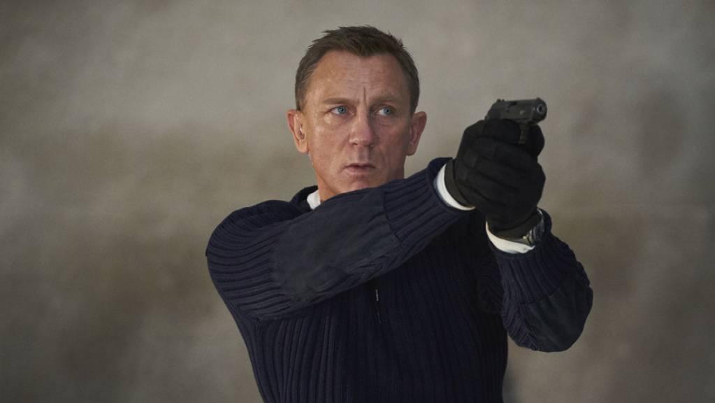 Daniel Craig in «No Time To Die»: In Grossbritannien und Irland hat der Geheimagent mit seinem neuesten Streifen den Rekord an den Kinokassen gebrochen – nicht so in der Schweiz.
