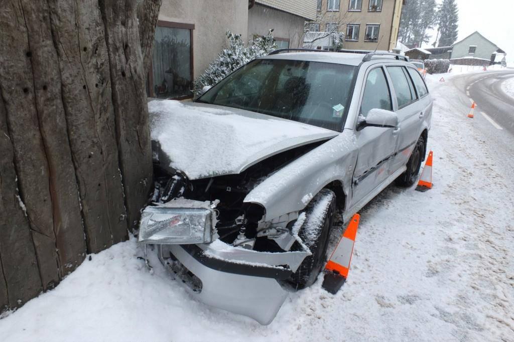 Unfall in Degersheim (© Kapo St.Gallen)
