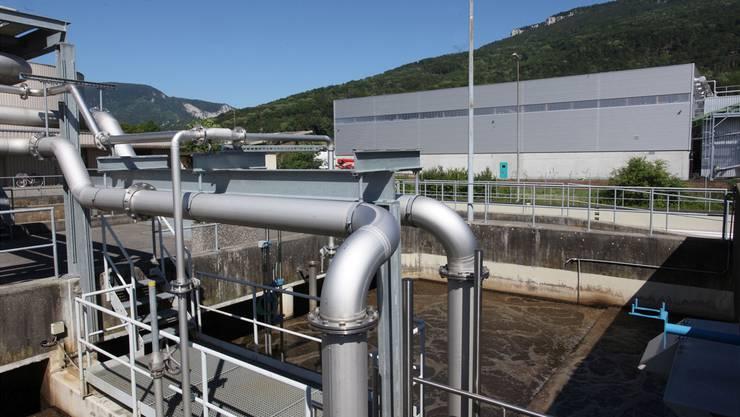 In der ARA Oensingen wurden 2016 5,601 Mio. m3 Abwasser verarbeitet.