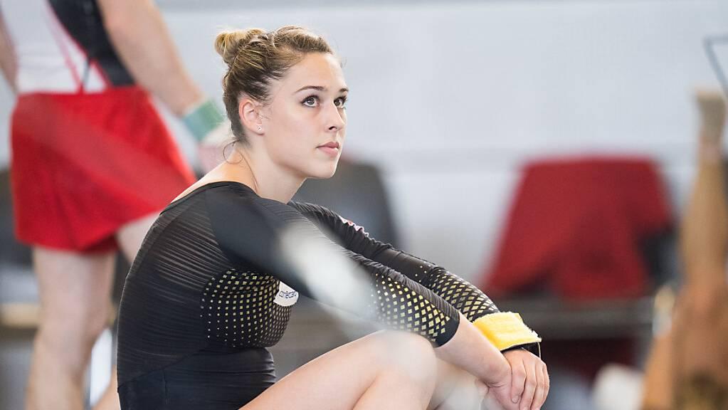 Giulia Steingruber muss nach ihrer gelungenen Qualifikation warten, zu was ihre Leistungen reichen.