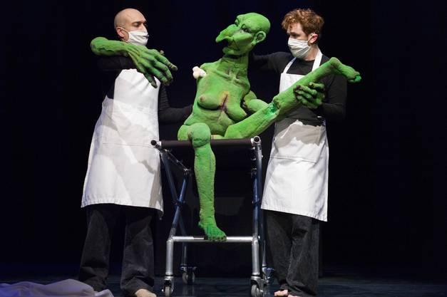Malediction -  Duda Paiva Company (NL) am Figura Theaterfetival ind Baden
