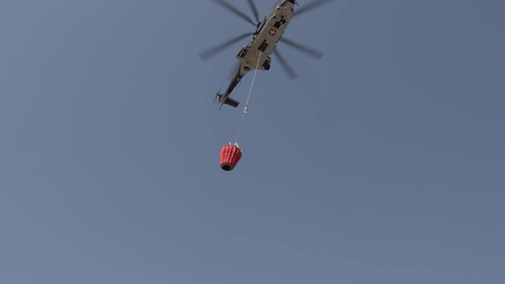 Waldbrände: Schweizer Luftwaffe unterstützt Griechenland