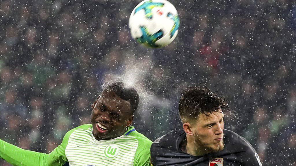Harter Kampf ohne Sieger: Wolfsburg und Augsburg trennten sich 0:0