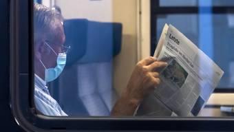 Seit Ausbruch der Pandemie sind ein Drittel weniger Reisende in den Zügen der SBB unterwegs.