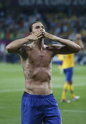 Ibrahimovic an der Euro2102