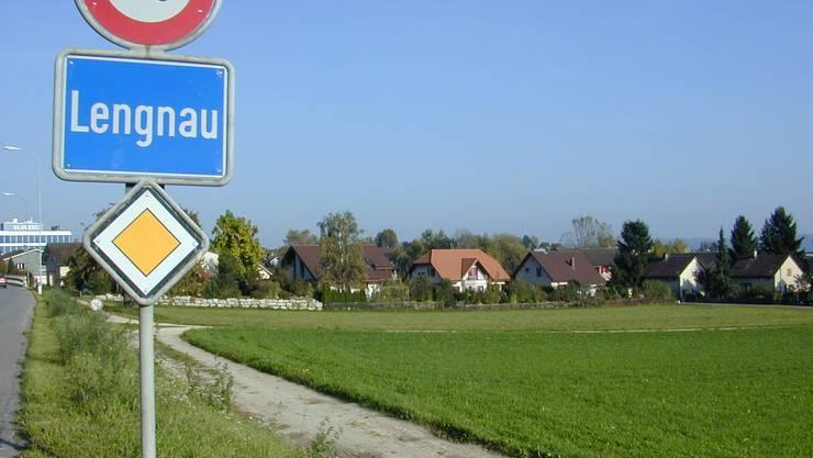 Ortseinfahrt Lengnau