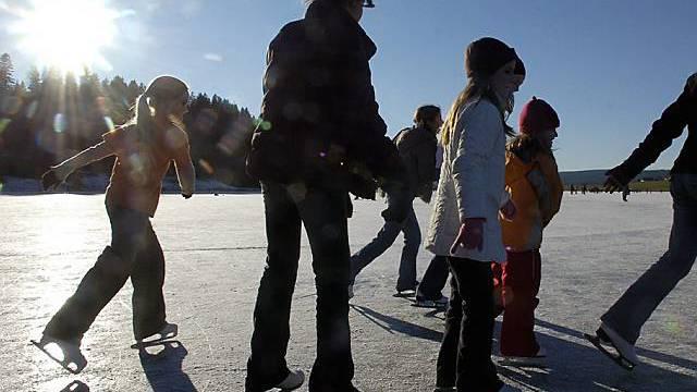 Schlittschuhlaufen in La Brevine NE