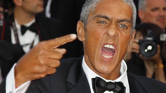 Samy Naceri zeigte sich in Cannes nicht von seiner besten Seite