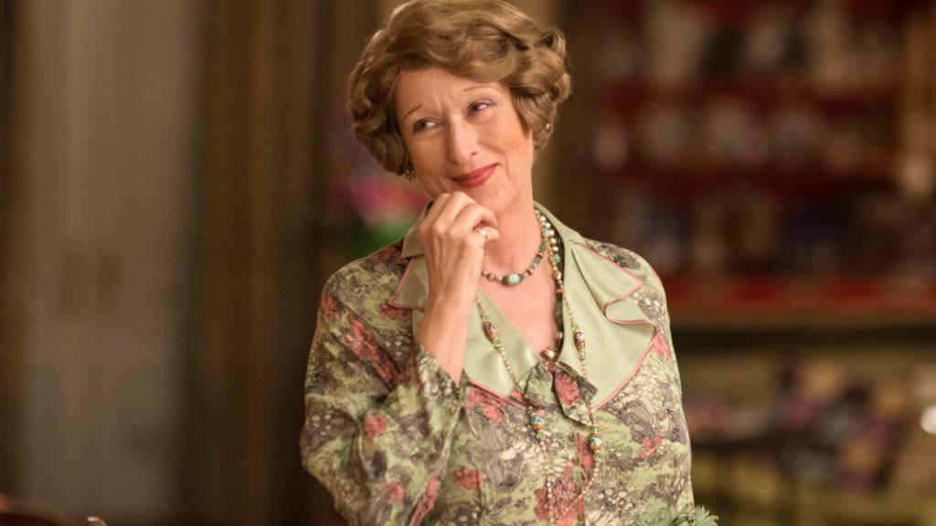 """Laut US-Präsident Donald Trump """"eine der am meisten überschätzten Schauspielerinnen"""": Meryl Streep in ihrer für einen Oscar nominierten Rolle als Florence Foster Jenkins."""