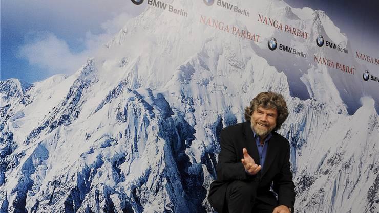 «Es gibt nun Hunderte von neuen Möglichkeiten, auf Berge zu steigen», schwärmt Reinhold Messner.Keystone