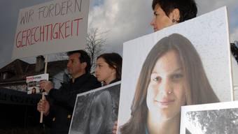 Demonstration zum Gedenken an Opfer von Verkehrsunfällen wie dem von Paul P.