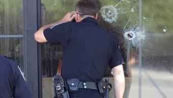 Polizisten am Tatort in Nevadas Hauptstadt Carson City
