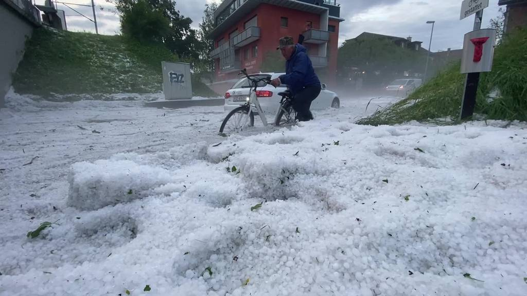Zentralschweiz wird von heftigen Unwettern getroffen