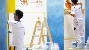 75 Berufe waren an den Swiss Skills zu sehen.