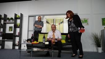 Regisseurin Uschi Jäggi leitete das erhaltene Lob gerne an die Schauspieler weiter.