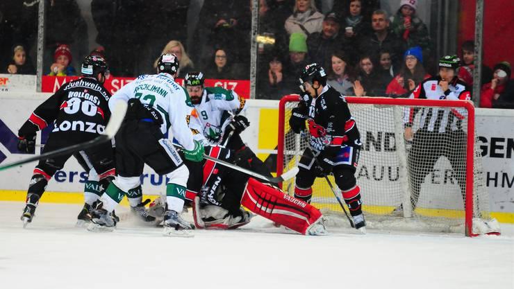 Mit vier Siegen gegen Visp steht der EHC Olten in den Playoff-Halbfinals.