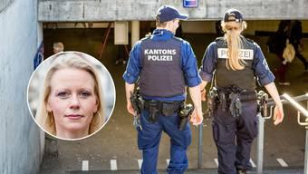Lilian Studer fordert mehr Ressourcen für die Polizei im Aargau.