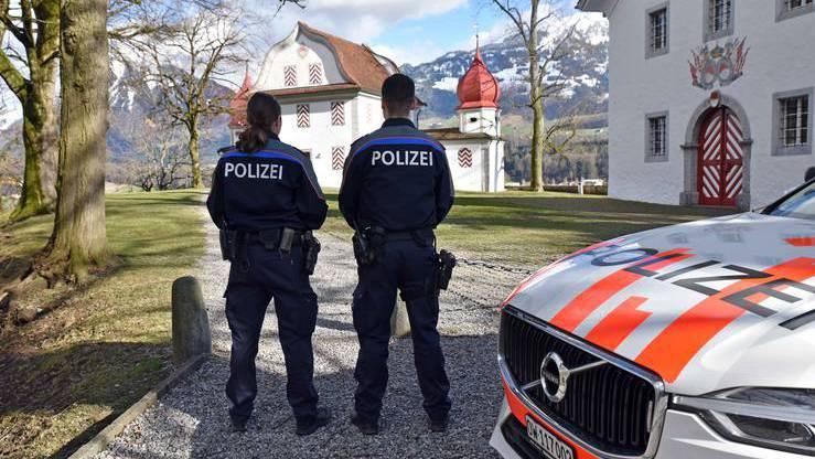 Polizeieinsatz in Kerns