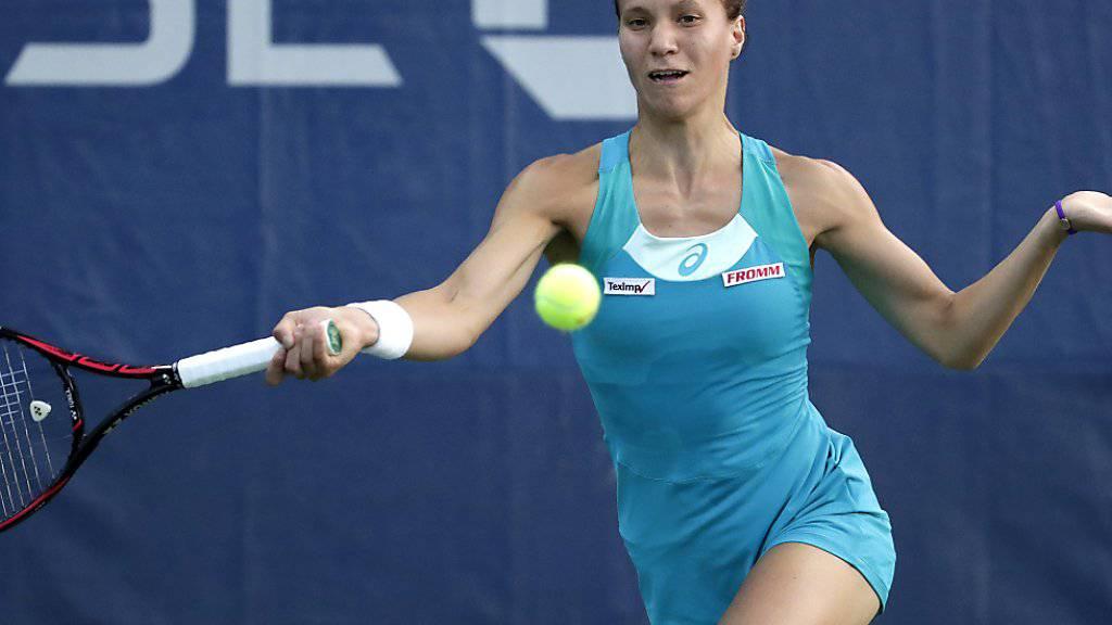 Viktorija Golubic nützte zum wiederholten Mal in dieser Saison eine gute Chance auf wertvolle Weltranglistenpunkte nicht