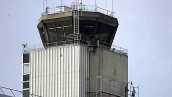 Der Tower des EuroAirports in Basel-Mühlhausen