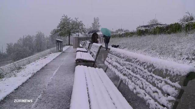 Ende April: Leise rieselt der Schnee