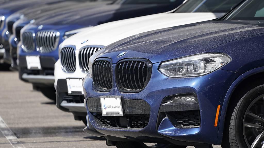 BMW verkauft im April 10 Prozent mehr Autos als vor Corona