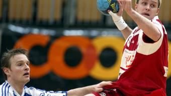 Ein BSV-Bern-Bild aus weniger guten Zeiten: David Staudenmann (in rot) gehörte zu jenem Team, das den BSV Bern 2003 wieder in die NLA zurück brachte.