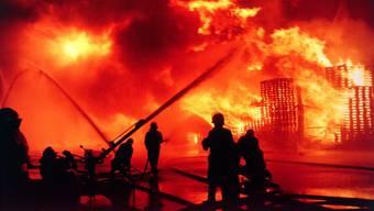 Grosseinsatz für die Rettungskräfte am 1. November 1986.