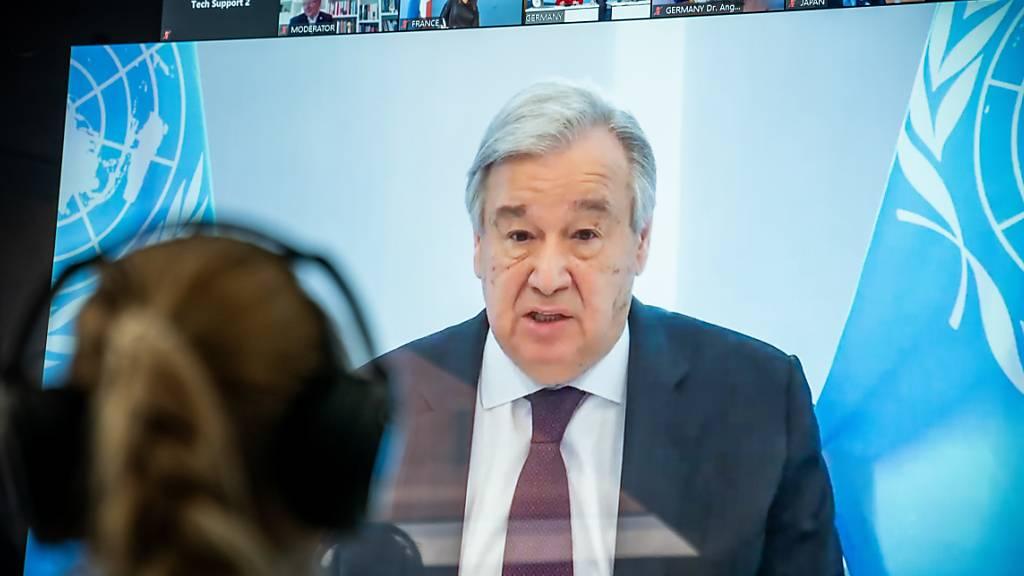Uno-Chef will Pandemie für Umgestaltung der Städte nutzen