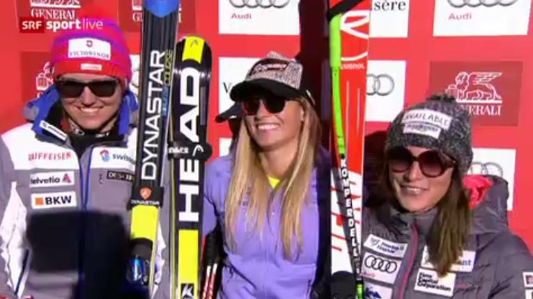 Schweizer Doppel-Sieg im Super-G