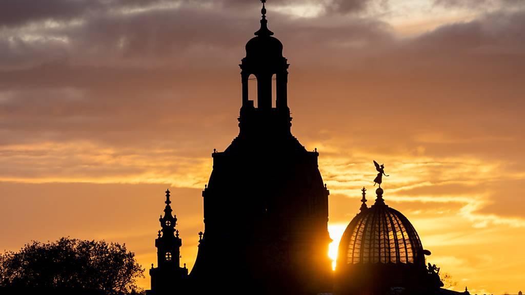 Dresden gedenkt der Zerstörung im Zweiten Weltkrieg