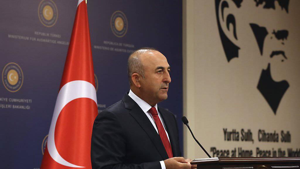 «Beide Seiten sind dazu bereit, die Beziehungen zu normalisieren»: Der türkische Aussenminister Mevlüt Cavusoglu zum Streit mit Deutschland. (Archivbild)