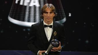 Luka Modric gewinnt die Fifa-Wahl zum Weltfussballer des Jahres