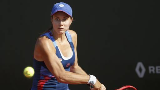 Stefanie Vögele siegt gegen die Nummer 1 des Turniers