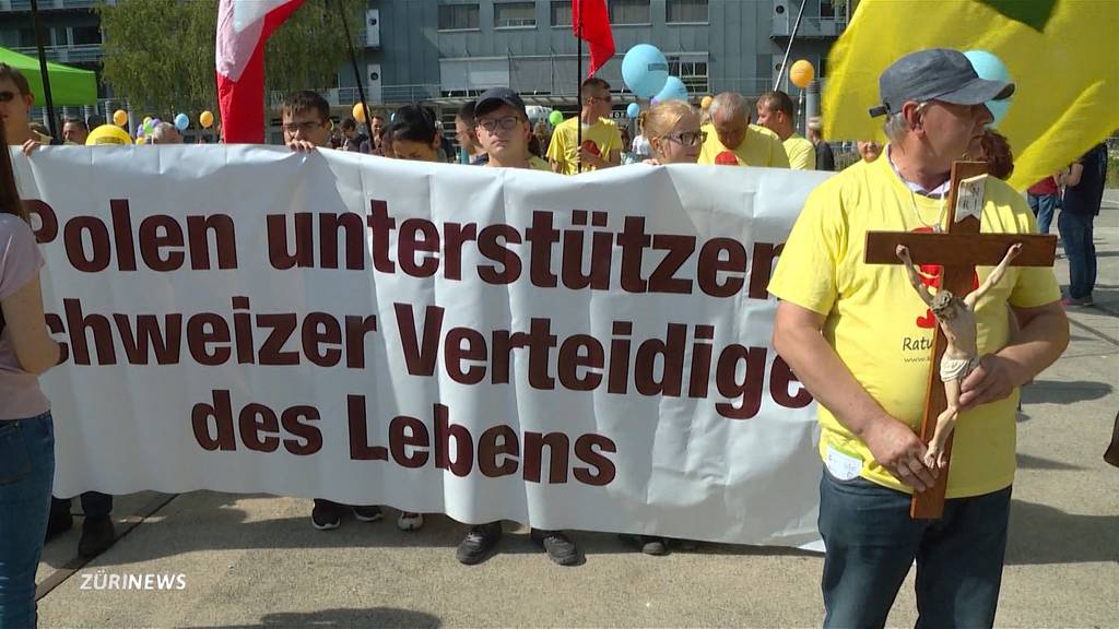 Der «Marsch für's Läbe» darf in Zürich doch stattfinden