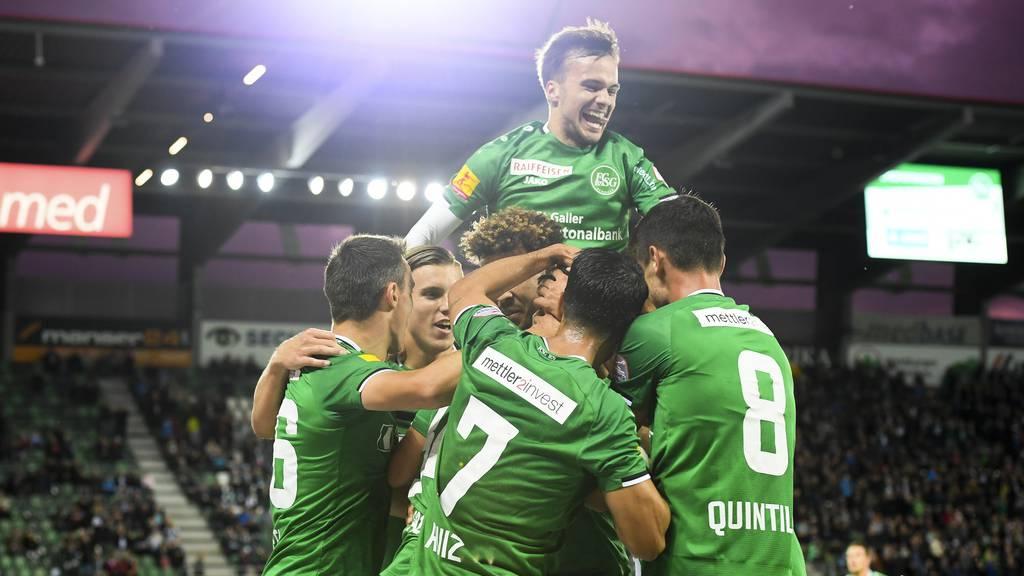 Der FCSG trocknet den FC Thun ab