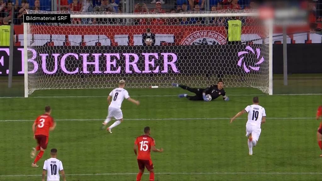 WM-Qualifikation: Schweiz spielt 0:0 gegen den Europameister