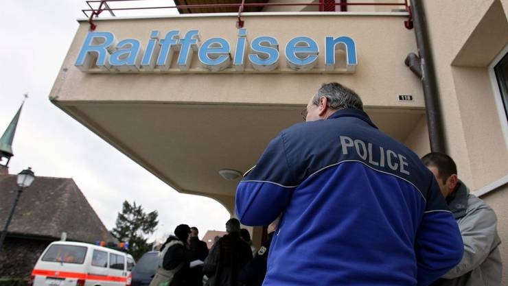 Raiffeisenbank überfallen (Archiv)