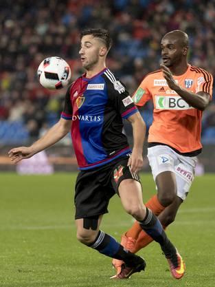 Andraz Sporar zeigt gegen Lausanne, dass er eine Verstärkung ist.