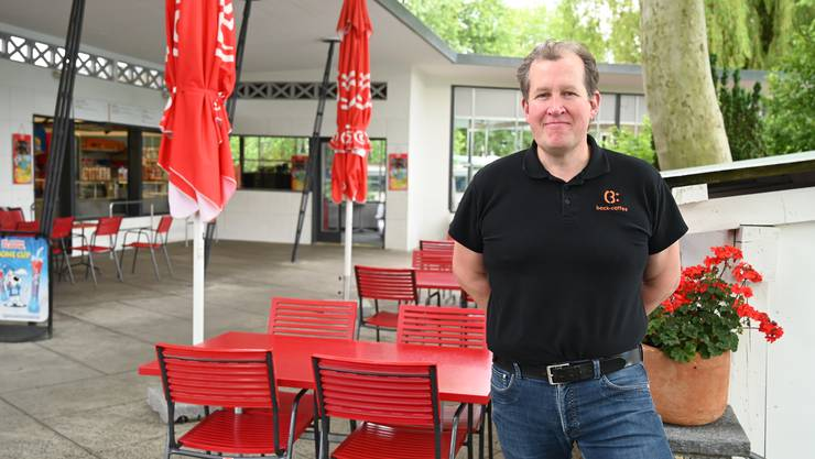 Jürg Jaeggi vomBack-Caffee gibt die Badi-Beiz nach dieser Saison nach 10 Jahren auf