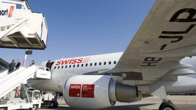 Ein Airbus A320 der Swiss (Archiv)