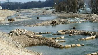 Fischaufstiegs- und Leichgewässer beim Kraftwerk Rheinfelden geflutet