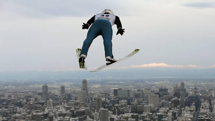 Simon Ammann gelingt in Sapporo eine markante Steigerung