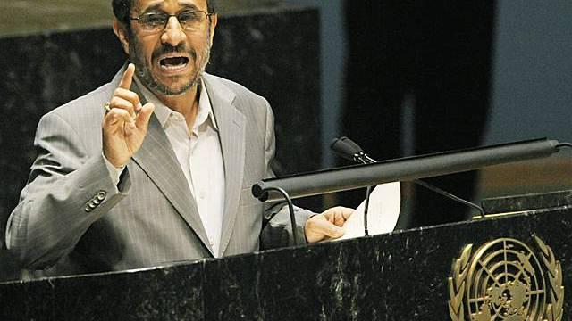 Irans Präsident Ahmadinedschad mit Ergebnis der Konferenz zufrieden